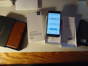 Samsung Galaxy S6 SM-G920R4 32GB Saphire Black (US Cellular) Smartphone