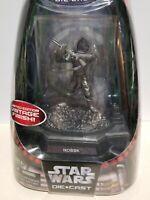 Star Wars BOSSK Titanium Die-cast action figure Vintage NEW Bounty Hunters