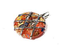 Bijou cristal Murano magnifique pendentif Murano  pendant