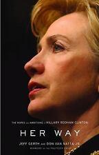 Book Her Way Hillary Rodham Clinton Gerth Van Natta Jr