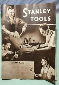 Vintage Stanley Tool Catalog #35 1940 47 Pages