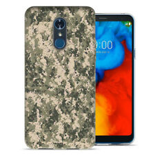 For LG Stylo 4 Digital Camo Design TPU Gel Phone Case Cover