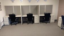Office Furniture, Knoll Cubicles and Salsbury Chairs (used at a call center)