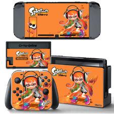 Ci-Yu-Online [NS] Splatoon 2 Orange VINYL SKIN STICKER DECAL Nintendo Switch