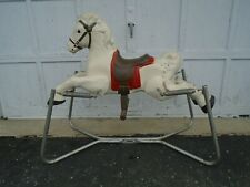 Vintage Spring Horse - Steel Rocking Ride-On