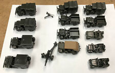 New ListingRoco Minitanks 1:87 Scale - Lot of 13 American Wwii Vehicles - Loose