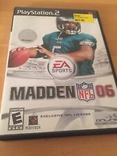Madden Nfl Football 2006 PlayStation 2 Ps2 Sports 5E