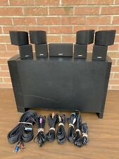 Bose Acoustimass 10 Series Iv Speaker System w/ Subwoofer Working Condition!