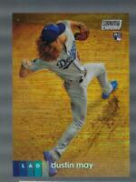2020 Topps Stadium Club Chrome Refractors #255 Dustin May NM-MT Dodgers ID:42459
