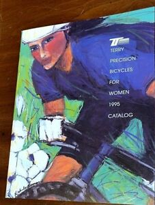 1995 Terry Precision bicycles for women full line bike and clothing catalog