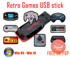 PC Retro USB Stick & 17000 Games - Plug-n-Play - FREE UK P&P
