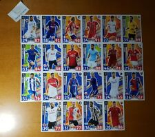 Topps Champions League Match Attax 17-18 Super Strikes Very Rare 22 Pieces