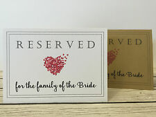 Rustic/Vintage/Shabby Chic Reserved sign