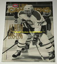 """MONTREAL CANADIENS """"LES CANADIENS"""" ALBUM 1995/96 Magazine PIERRE TURGEON Cover"""