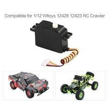 Servo Steering Gear 25G Plastic Servo For 1/12 Wltoys 12428 12423 12628 Rc