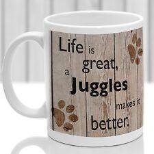 Juggles dog mug, Juggles dog gift, ideal present for dog lover
