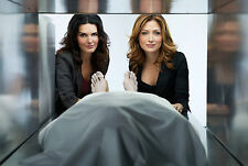A. Harmon and S. Alexander (Rizzoli and Isles) 8x10 sexy promo poster no text 3