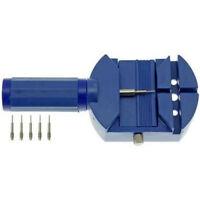 Wrist Bracelet Watch Band Link Slit Strap Remover Adjuster + 5 Pins Repair Tools