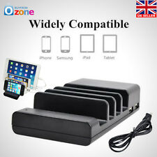 New Universal 4 USB Port Charger Dock Charging Station for Mobile Phone Tablet