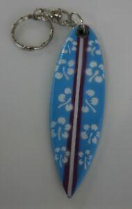 Surfbrett Schlüsselanhänger aus Hawaii  Flower  verschiedene Farben