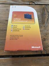 Microsoft Office Professional 2010 PKC , Englisch, Vollversion mit MwSt-Rechnung