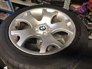 """BMW E53 X5 19"""" GENUINE TIGER CLAW ALLOY WHEELS WITH GOOD TYRES E46 VIVARO TRAFIC"""