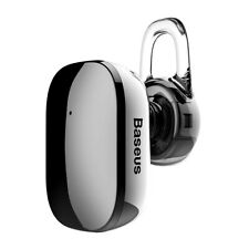 Baseus Black Electroplated Wireless Bluetooth Earphone(Touch Key Control)(A02)