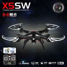 Syma X5SW RC Quadcopter WIFI FPV 2.4Ghz 4CH 6-axis Drone HD Camera RTF aircraft