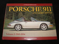 PORSCHE 911 959, 961, CARRERA COLLECTOR'S GUIDE VOL.2 1981-1994 MICHAEL COTTON