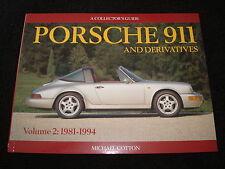 PORSCHE 911 959 ,961 ,CARRERA COLECCIONISTA Guía vol.2 1981-1994 MIGUEL Algodón