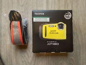 Fujifilm FinePix XP130 16.4 MP Digital Camera + Free Floating Strap - Brand New