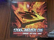 "DJ RECTANGLE EMINEM DREE Hot Carl 1200's Never Die 12"" You Must Be Crazy 2003"