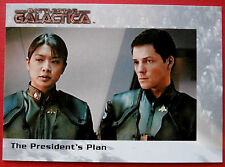 BATTLESTAR GALACTICA - Premiere Edition - Card #44 - The President's Plan