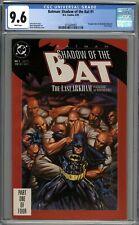 Batman Shadow of the Bat #1 CGC 9.6 NM+ 1st Appearance of Jeremiah Arkham WP