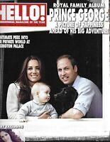 Hello Magazine Kate Middleton Prince William and George Tamara Ecclestone 2014