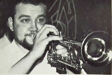 KEITH SMITH clipping British Jazz trumpet live B&W small photo Dixieland UK