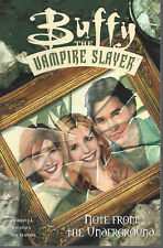 Buffy Note From the Underground  SC TP  New  Dark Horse  OOP  BTVS