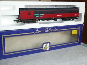 Lima 00 Gauge BR Mk1 GUV RES NJX 95143 Parcel Van In Full RES Red & Grey Livery