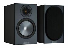 Monitor Audio Bronze 50 (6G) Kompaktlautsprecher schwarz (Paar) Boxen NEUWARE