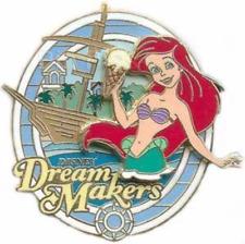 Disney Pin 55049 WDW Cast Member Dream Makers Yacht Beach Club Resort Ariel *