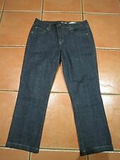womens JAG hig rise turn up crop leg denim jeans SZ 12 stretch!