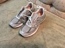 New Balance M990GL5 Athletic Shoes For Men (Gray/Silver) Size 13