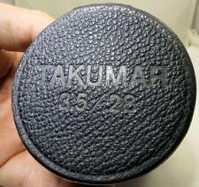 Pentax 28mm f3.5 Black Hard Lens Case for Takumar SMC M42 Lens