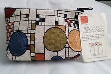 Piccola borsetta  in tessuto - Frank Lloyd Wright Collection (NUOVA)