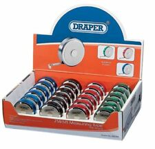 DRAPER 48844 MEASURING TAPE WITH MAGNET (2M/6FT) CHOOSE COLOUR