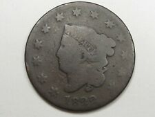1822 US Coronet Head Large Cent Coin.  #5