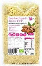 Organic Almond Flour 1kg Ground Blanched Almonds Meal Gluten Free Paleo Raw Pure