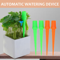 4Pcs Water Flow Dripper Stake Emitter Drip Automatic Adjustable Switch Speed
