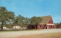 Oklahoma City Oklahoma~Old West KOA Kampground~Travel Trailers~Route 66~1960s PC