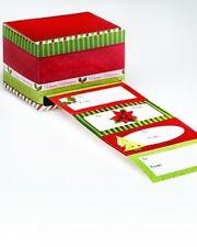 Holiday Gift Tag & Dispenser Box, 120 tags Self-adhesive